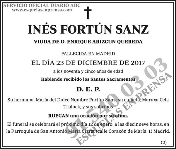 Inés Fortún Sanz